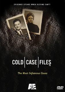 Cold Case Files The Most Infamous Cases DVD