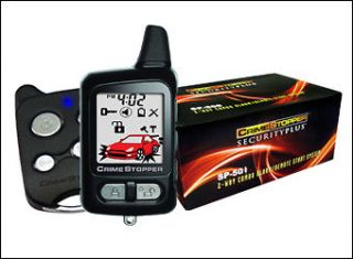 Plug & Play 2 Way Remote Start & Alarm for Dodge, Chrysler, & Jeep EZ
