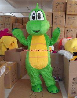New Professional Yoshi From Super Mario Mascot Costume Fancy Dress EPE