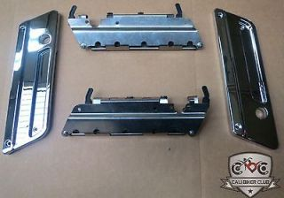 Hardware Latches+ Chrome Latch Covers FOR HD Harley Davidson Bags Lids