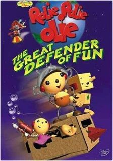 Rolie Polie Olie The Great Defender Of Fun New Dvd