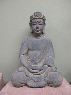 12 Sitting Buddha Meditation Garden Statuary Tabletop Statue for