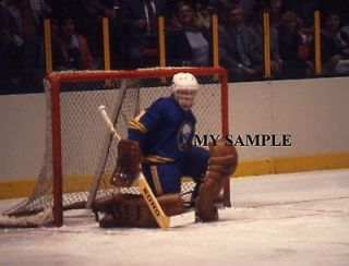 RARE DON EDWARDS 1978 BUFFALO SABRES GOALIE MASK PADS VINTAGE NHL 8 x