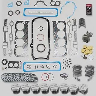 Fed Mogul Engine Rebuild Kit SBC LT1 350 +.030 Bore  .010 Rods  .010