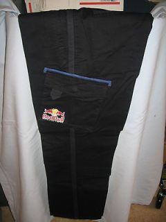 NEW Team Red Bull Racing Puma Pit Crew Cargo Pants 39x29 Supercross
