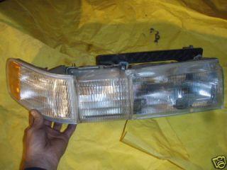 Cadillac Seville headlights