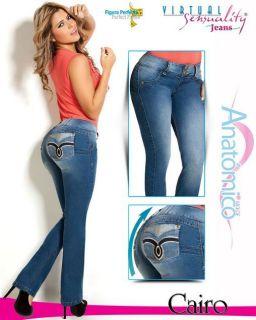 Virtual Sensuality Jeans, Butt Lift Cairo, Push Up Levantacola Pants