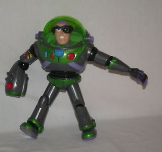 Buzz Lightyear Talking Action Figure 2001 Red Laser Zurg 12 Toy Story