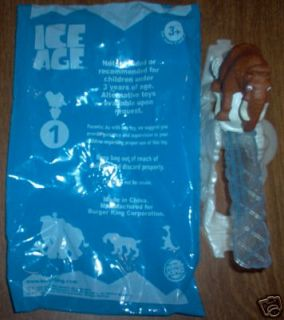 BURGER KING 2002 ICE AGE #1 CLIMB N SLIDE MANFRED MIP