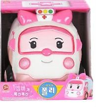 New Robocar Poly Amber 10.3 plush ambulance doll Kids crazy for