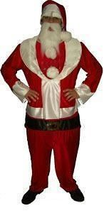 Costume FAT SANTA SUIT   Comical Christmas