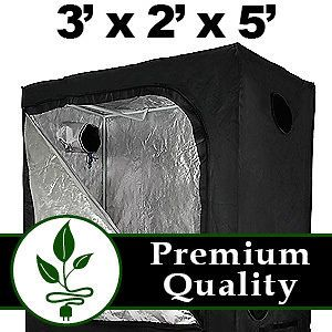 Hydroponic Grow Growing Tent Box Room Greenhouse System Mylar 3 x 2