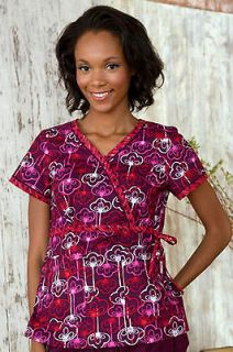 NWT Authentic Koi Medical Uniform Kathryn Style Scrub Top