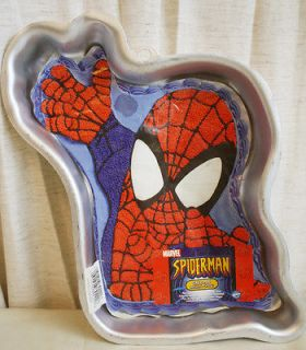 Spiderman Wilton Cake Pan