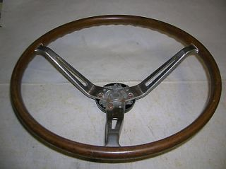 70? OPEL KADETT RALLY WOOD STEERING WHEEL WITH HUB Sold at Buick DLR
