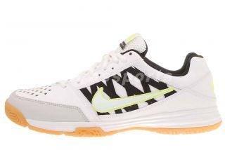 Nike Court Shuttle V White Mens Badminton Shoes 525766 100