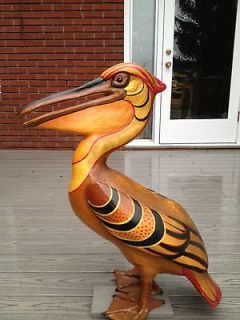 Sergio Bustamante paper mache signed over 30 years old.Number 5 of 100