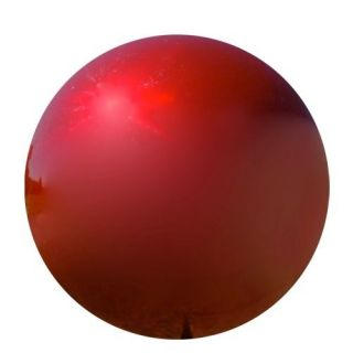 Stainless Steel Red Gazing Ball Globe VCS RED06