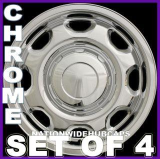Wheel Skins Hub Caps Rim Covers 6 Lug 8 Slot Steel Wheels (Fits F 150