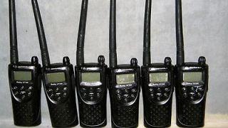 Newly listed 6 MOTOROLA VHF CP100 15 CHANNEL 2 WATT RADIOS