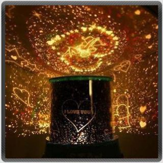 New Sweet Love Star Sky Romantic Night Projector Light
