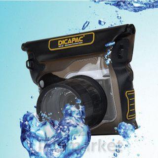 NEW DiCAPac WP S3 Waterproof case For NEX 6 NEX 5R NEX 7 GF5 E M5 X E1