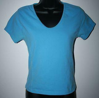 TUFF ATHLETICS Womens Yoga Shirt Size Small