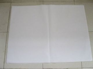 100Sheets White Tissue Paper Gift Wrap Wrapping