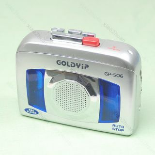 Portable Cassette Tape Player Sound Voice Recorder 506