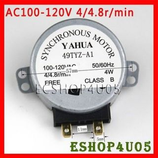 New microwave turntable synchronous motor 100V 120VAC 110V AC