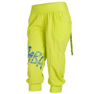Zumba Feelin It Cargo Capri Pants   Green