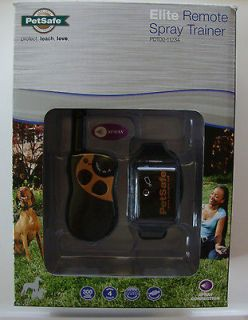 NEW PetSafe Remote Spray Collar Trainer Big Dog Training Pet Leash