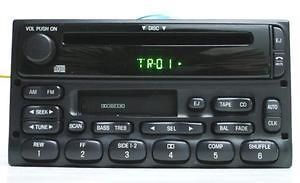 Ford 1998 2005 CD Cassette player radio Premium sound TESTED P013g