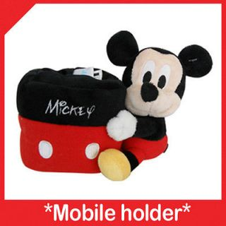 Mickey Mouse Mobile holder cell phone stand desk pencil cup toy