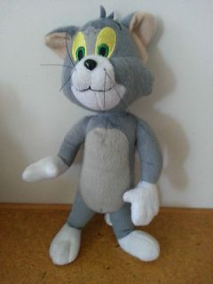 plush toy tom cat from tom and jerry! 27cm tall!