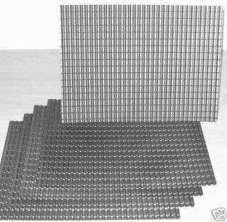 24th SCALE SLOT CAR 5 x BUILDING ROOF TILE SHEETS