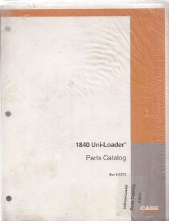 Case 1840 Uni Loader Skid Steer Loader Parts Manual