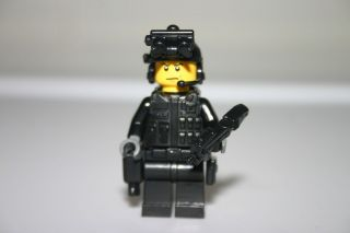 Lego Custom P90 Point Man Navy Seals Special Ops Forces Minifigure