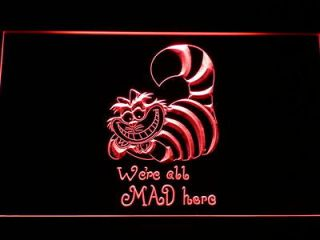 Newly listed g200 r The Cheshire Cat Alice in Wonderland Neon Sign