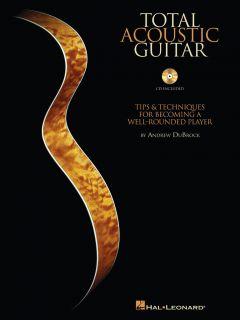 TOTAL ACOUSTIC GUITAR TAB SHEET MUSIC SONG BOOK W/CD