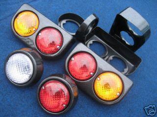 Rear Light/lamps Carbon Pods Kit Car Caterham/DAX/S even