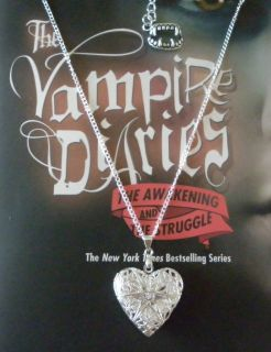 THE VAMPIRE DIARIES CAROLINES LOCKET NECKLACE, VERVAIN FILLED.
