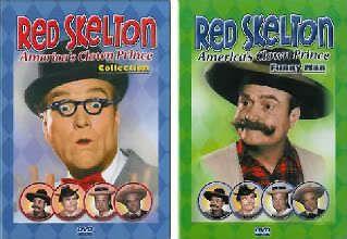 Red Skelton Americas Clown Prince Vols 3 & 4 4 DVD set
