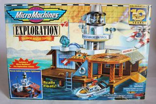 MACHINES EXPLORATION HARBOR RESCUE CENTER VINTAGE GALOOB NEW MISB
