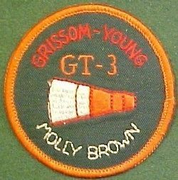 NASA Gemini Three Grissom Young Mission Patch