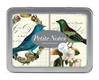 Cavallini & Co. Birds Petite Note Card Set