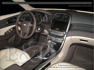 2013 CHEVY MALIBU WOOD GRAIN DASH KIT DELUXE 25PCS. IN FACTORY PIANO