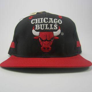 VTG Chicago Bulls Snapback Hat Cap Derrick Rose Michael Air Jordan AJD