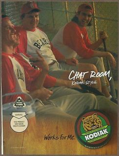 Kodiak Smokeless Tobacco 2004 print ad / magazine advertisement