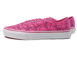 Vans Hello kitty Authentic Pink White trainers Sanrio Womens Shoe all